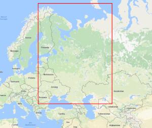 Tolde zona russa europea